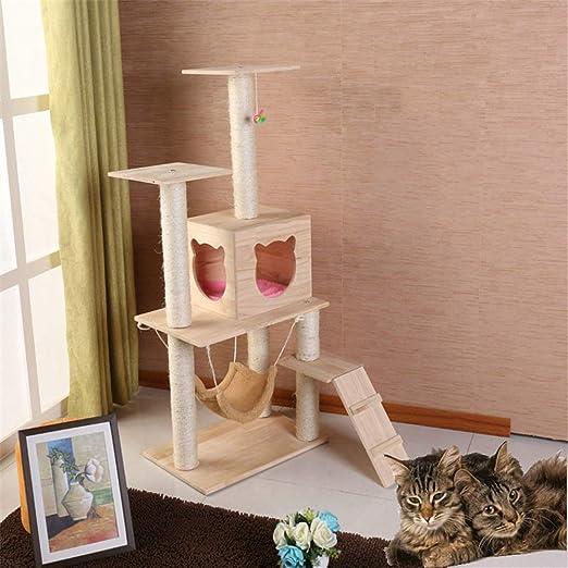 Escalada gato Torre Toy gato doméstico del gato del gato Árbol que ...