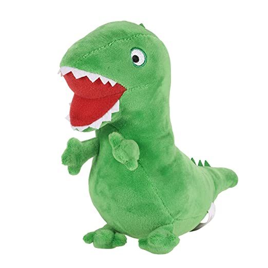 7a1fccdb7cb Image Unavailable. Image not available for. Color  New Genuine Peppa Pig  19cm Green George Dinosaur MR ...