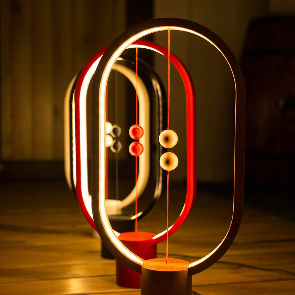 Heng Balance Lampe, Lampe, Lampe, Ellipse Magnetic Mid-Air Switch USB Powerot LED Lampe, Warm Eye-Care LED-Lampe, Nachtlampe, Tischlampe, Dekoration für Wohnzimmer-Büro,schwarz B07LF9MZPG | Zuverlässiger Ruf  165d76