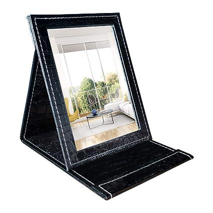 umi essentials klappspiegel mit ständer schminkspiegel taschenspiegel und tischspiegel 11 43x16 26 cm  klappspiegel sind praktisch und schon #6