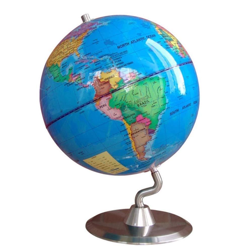 Globusdurchmesser 25 cm HD-Studenten mit rein englischen Ornamenten Einrichtungsgegenstände Kindergeschenke (Farbe   Blau) Blau