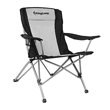 Amazon.com: KingCamp, sillón plegable muy resistente ...