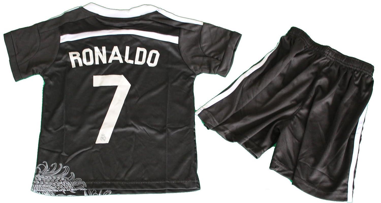 newest 78913 fcb61 Amazon.com : 2014/2015 REAL MADRID BLACK DRAGON CRISTIANO ...