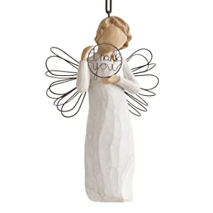 Willow Tree hand-painted sculpted Ornament, Just for You