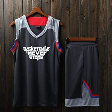 LHDDD NBA Baloncesto Uniformes Camiseta Manga Corta, Uniforme ...