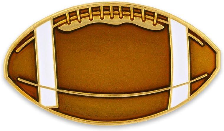 PinMart Gold and Navy 5 Year Safety Award Enamel Lapel Pin