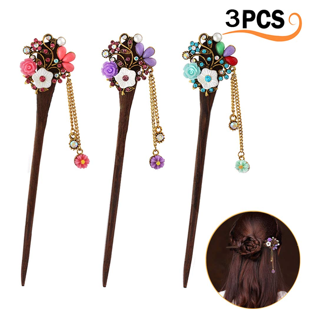 Merysan vintage Hair stick elegante Hairpin Hair styling Hair making Accessory per donne ragazze