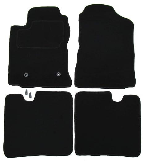 Veloursmatten Textilmatten Fußmatten Automatten Toyota Verso ab 04.2013 3-tlg