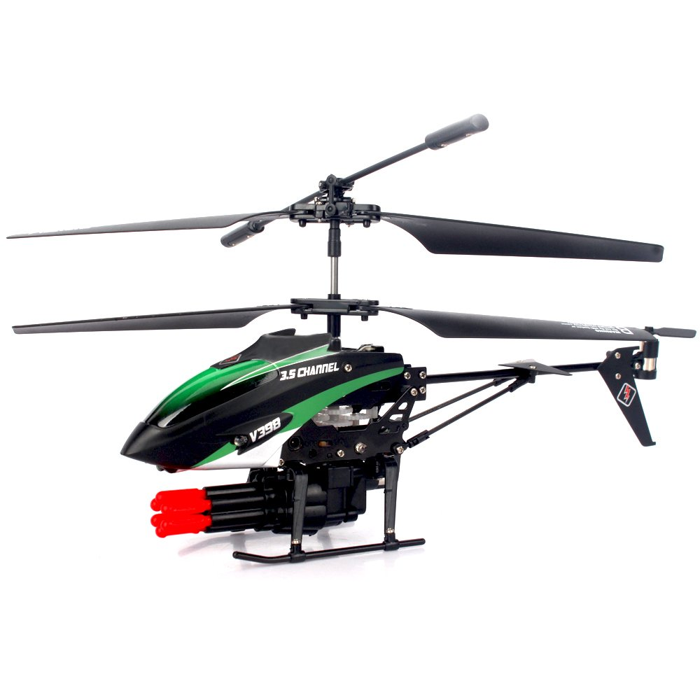 WL toys V398 Helicopter Missile Shooting Helicopter