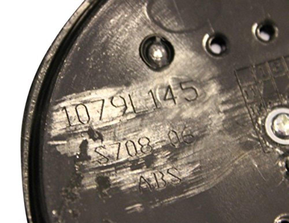 KMC XD Series 796 797 798 Matte Flat Black 6 Lug Wheel Rim Center Cap 1079L145 S708-06 ABS
