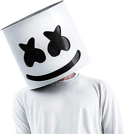 SHI WU DJ Mask Helmet for Music Festival Halloween Mask Props ...