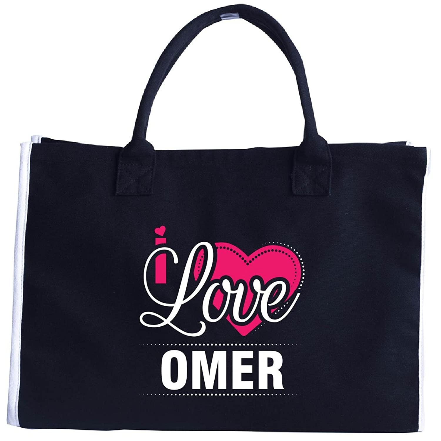 I Love Omer - Cool Gift For Omer From Girlfriend - Tote Bag