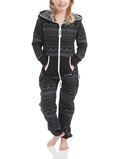 Zipups Mono-Pijama Maori Antracita 10-11 años (140/146 cm)