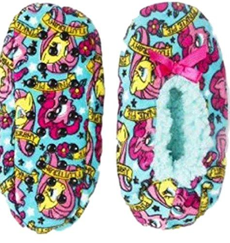 High Point My Little Pony Girls Fuzzy Babba Slipper Socks - Stores Highpoint