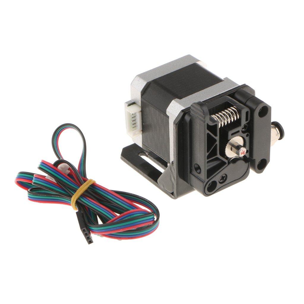 Dolity Kits de Extrusor Con Motor de Pasos Para Filamento de Makerbot 1.75mm Diseñ o optimizado con Alimentació n Automatizada.