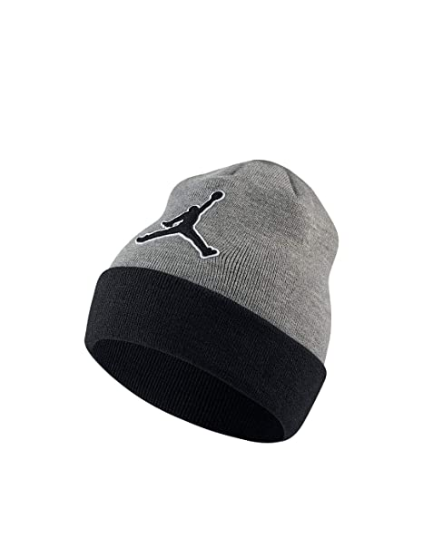 Nike Jordan Graphic, Gorro para Hombre, Carbon Heather, Negro, Talla única