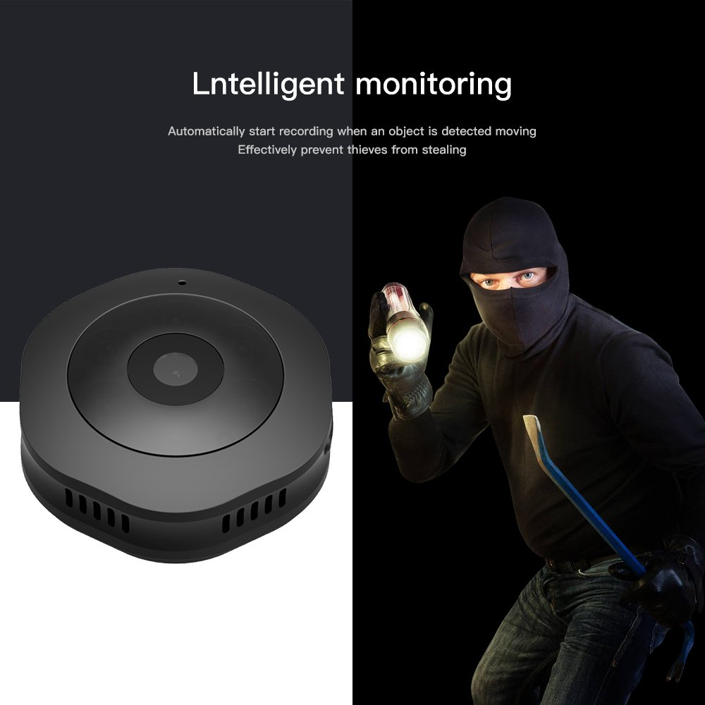 JDIBEST Spy/Hidden Camera - Nanny Camera - Motion Detection - Real HD 1080P, Perfect Indoor Covert Security Camera for Home and Office - The Battery Lasted 2 hours-IMPROVED 2018
