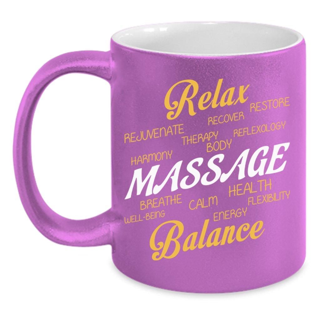 Relax, Massage, Balance Mug