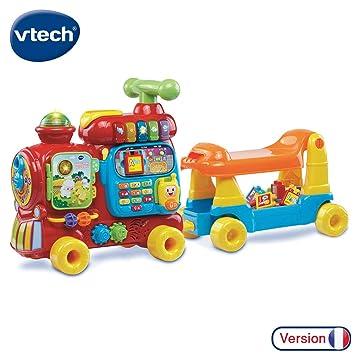 VTech Baby - Jueguete Educativo electrónico Maxi Tren 5 en 1 ...