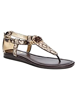 Women's G By Guess Jettson T-Strap Sandals