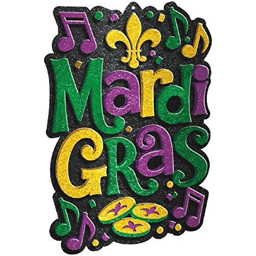 Mardi Gras Party Cutout, 21