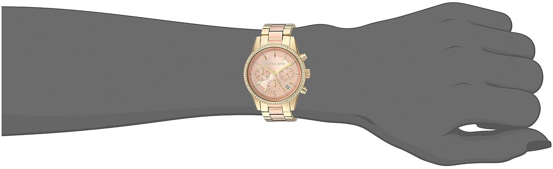 32aecdfaa65b Amazon.com  Michael Kors Women s Ritz Gold-Tone Watch MK6475  Michael Kors   Watches