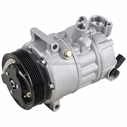 Amazon.com: AC Compressor & A/C Clutch For VW Jetta Golf GTI Passat Eos Tiguan Audi A3 TT - BuyAutoParts 60-02038NA New: Automotive