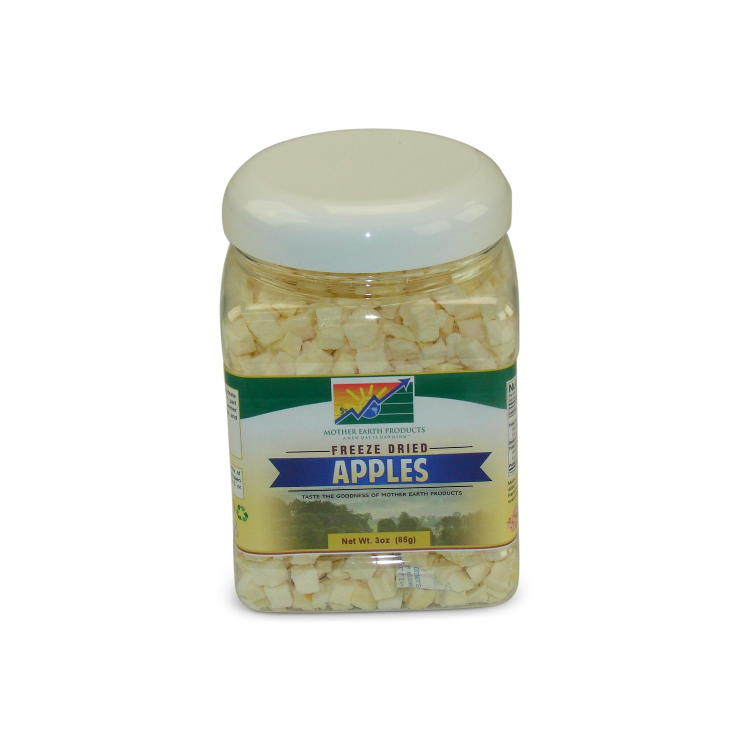 Mother Earth Products Freeze Dried Apples, Net Wt 3oz (85g) by Mother Earth Products