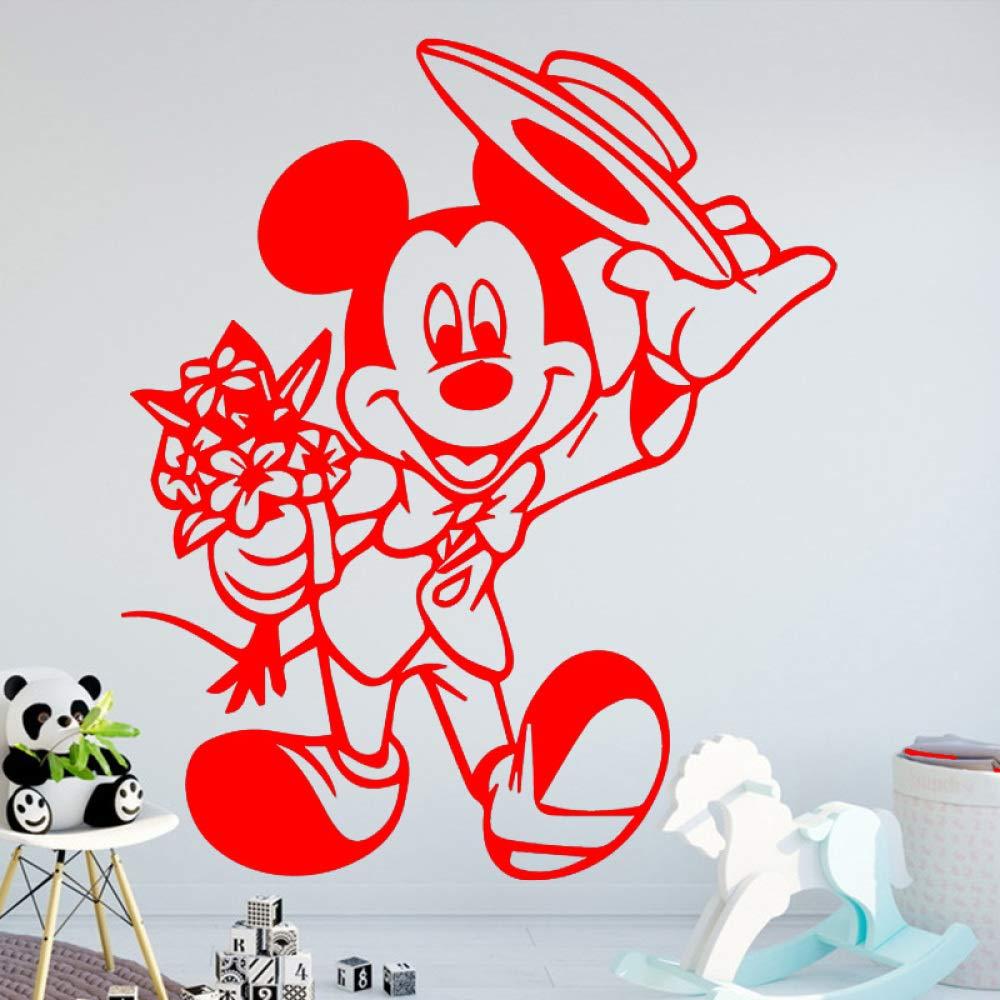 yaoxingfu Divertido patrón de ratón Etiqueta de la Pared ...