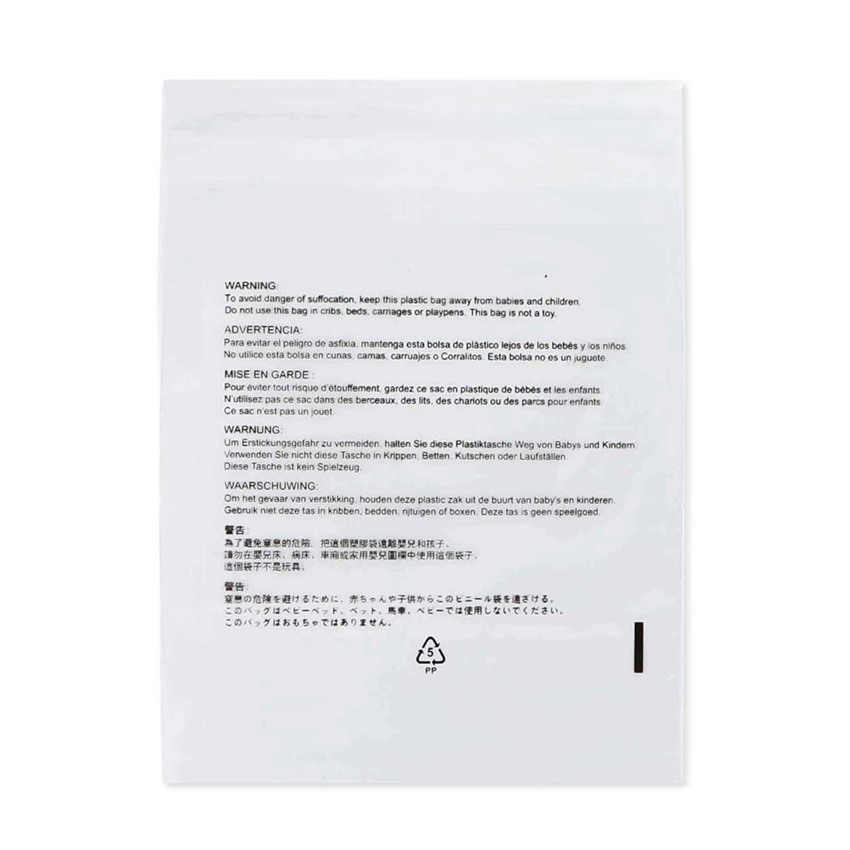 Komodoクリアセルフシールポリバッグ、1.5 Mil Iサイズ選択6 x 9 8 x 10 9 x 12 11 x 14 14 x 20 I Suffocation Warning 7言語での国際and USA Seller I強力粘着通気穴付き – 100カウント 14 X 20 14 X 20  B076HZGJPY