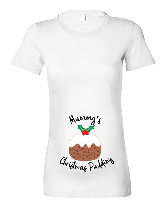 a6e845ec Beyondsome Womens 'Mummy's Christmas Pudding' Maternity T-Shirt D2:  Amazon.co.uk: Clothing