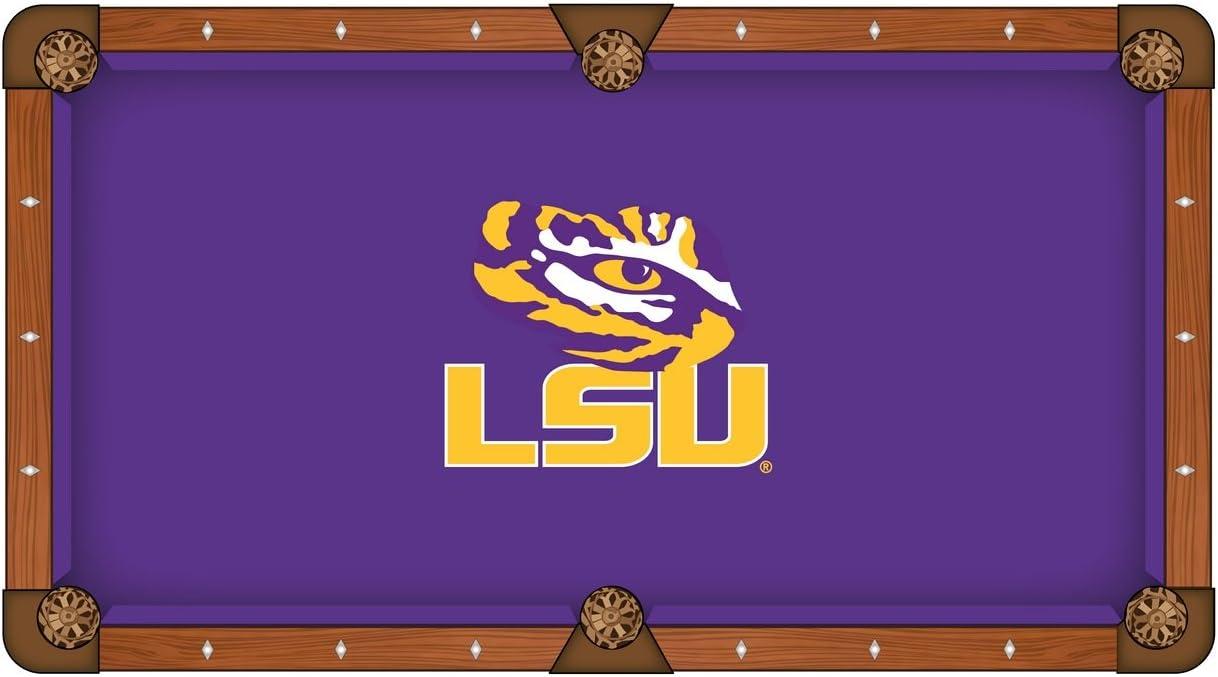 LSU tigres HBS morado con amarillo Logo de billar mesa de billar ...