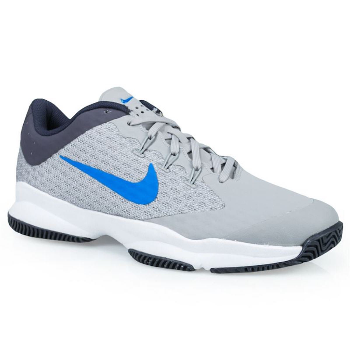 NIKE Men's Air Zoom Ultra Tennis Shoe (10.5 D(M) US, Atmosphere Grey/White/Gridiron/Photo Blue)