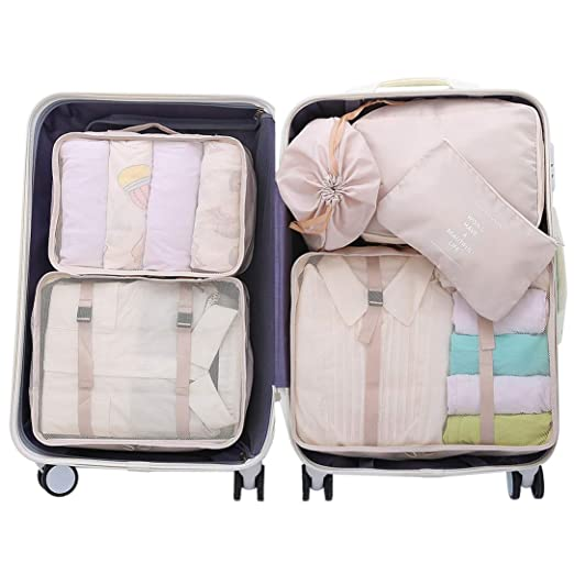 8e5980557305 OEE Luggage Packing Organizers Packing Cubes Set for Travel