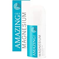 Amazing Oils Magnesium Oil Gel 60ml (3 Months) - Less Itchy 100% Pure Australian Magnesium Chloride