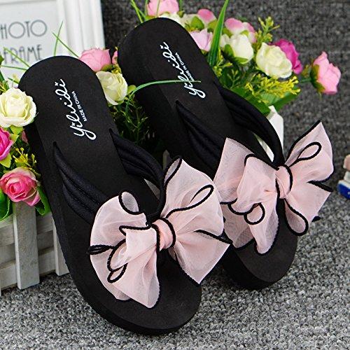 e pantofole Forty pantofole ciabatte pendenze Donyyyy pantofole Bow B156ZOwq4
