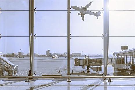 Amazon com : LFEEY 10x8ft Airport Hall View Backdrop Empty
