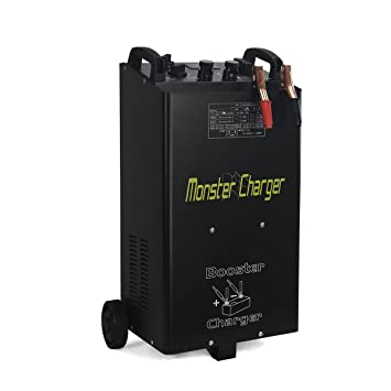 Stark 55 Amp 12/24 Voltages Wheeled Battery Fast Charger Truck Charger on