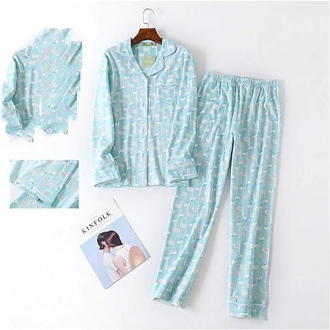 TENGTENGCAI Cute Dibujos Animados Colorido Pijama Mujer Invierno ...