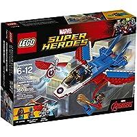 LEGO Super Heroes Captain America Jet Pursuit 76076...