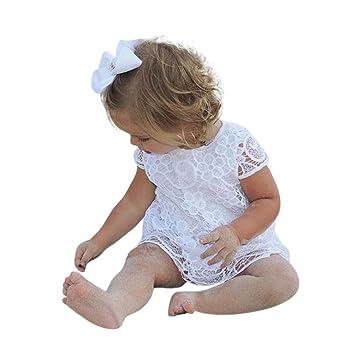 22177ed22 Amazon.com  Toddler Baby Girls Kids Lace Dresses Cuekondy Summer ...