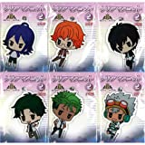 KING OF PRISM by PrettyRhythm clear mascot 2 whole set of 6 (prize)