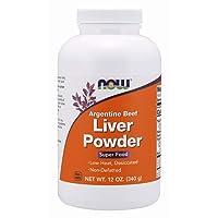 NOW Supplements, Liver Powder derived from Fresh, Hormone-Free Argentine Beef Liver...