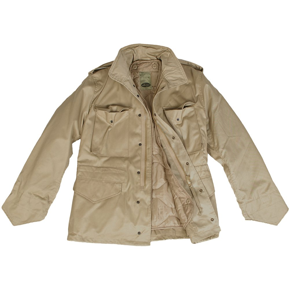 8259b865705 Mil-Tec Classic US M65 Jacket Khaki at Amazon Men s Clothing store