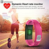 Waterproof Fitness Activity Tracker Watch with