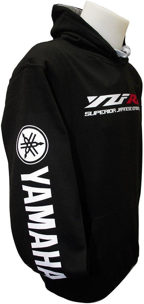 Yoshimura Suzuki Honda Moriwaki Rossi DPX-1 Yamaha YZF R6 Felpa con Cappuccio Ingegneria Superiore S-3XL