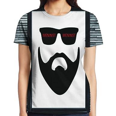 Liamjenk Meninist Red words Logo Glasses Beard Photo Frame Atlanta ...