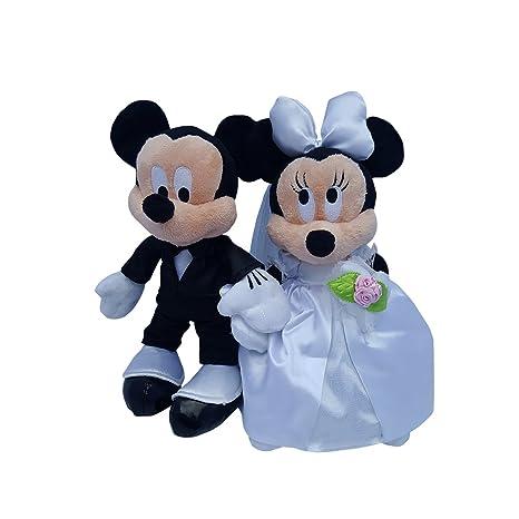 Amazon.com: Disney Mickey & Minnie Mouse Plush Wedding Set 9\