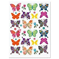 Current Floral Butterfly Stickers - Set of 64 Stickers