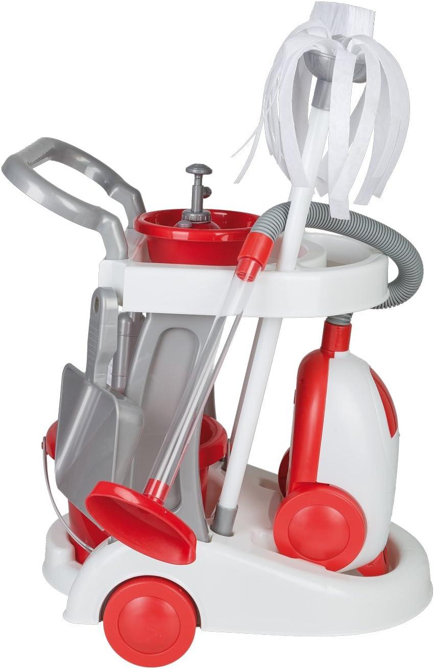 Logitoys 115238 - Carro de limpieza con aspirador de juguete , color/modelo surtido: Amazon.es: Juguetes y juegos